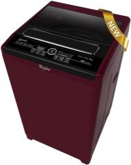 Whirlpool WM ROYALE 6212SD 6.2 Kg Top Load Fully Automatic Washing Machine Wine Chrome Tinted
