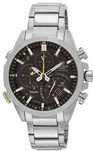 Casio Edifice Bluetooth Chronograph Black Dial Men S Watch Eqb 500d