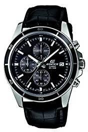 68710c38e Casio Edifice Chronograph Black Dial Men's Watch EFR 526L 1AVUDF EX096