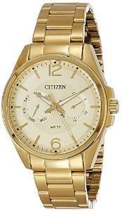 citizen analog gold s ag8322 50p price