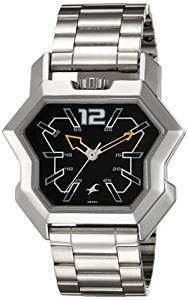 a2b868e9b Fastrack Analog Black Dial Watch for Men 3125SM02 Price - Latest prices in  India on 31st May 2019