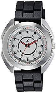 8dad4b67c Fastrack Black/Silver Analog Watch For Men 3117SP01 Price - Latest ...