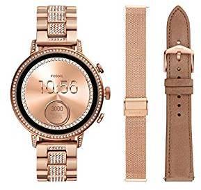 63ca08e0d Fossil Q Gen 4 Hr Digital Black Dial Women's Watch FTW6021SETOUT OF STOCK