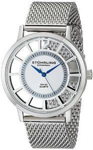 Stuhrling Original Classic Analog Silver Dial Men S Watch 388m 01