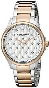 Stuhrling Original Vogue Culcita Analog Silver Dial Women S Watch