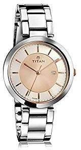 Titan Ladies Neo Ii Analog Rose Gold Dial Women S Watch 2480km01 Price In India Browse Prices On 7th September 2020 Pricehunt