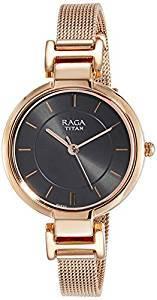 5f3f7a4712f Titan Raga Viva Analog Grey Dial Women s Watch 2608WM02 Price in ...