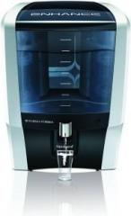 Eureka Forbes Aquaguard Enhance 7 Litre RO+UV+TDS Water Purifier Black and White 10 Litres RO + UV Water Purifier