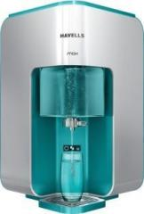 Havells Max 100% RO+ UV+ Mineralizer, 7 Ltr. RO Water Purifier with Revitalizer 7 Litres RO + UV Water Purifier
