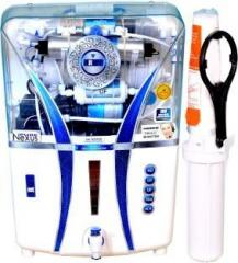 Nexus Pure DRFT 3 COPPER+ALKALINE 14 Litres RO + UV + UF + TDS Water Purifier