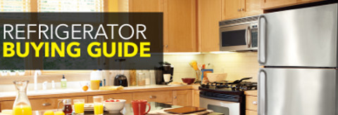 Refrigerator buying guide.