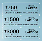 snapdeal Rs 3000 off on laptops